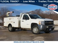 Used, 2013 Chevrolet Silverado 3500HD Work Truck, White, 21CF424A-1