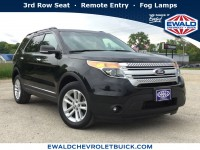 Used, 2013 Ford Explorer XLT, Black, 19C728A-1
