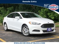 Used, 2013 Ford Fusion SE, White, 19C318A-1