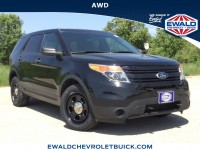 Used, 2013 Ford Utility Police Interceptor AWD 4dr, Black, GP4410-1