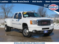 Used, 2013 GMC Sierra 3500HD Denali, White, 19C409A-1