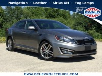 Used, 2013 Kia Optima SX w/Limited Pkg, Silver, 19C749A-1