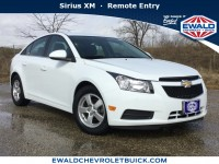 Used, 2014 Chevrolet Cruze 1LT, White, 19C551A-1