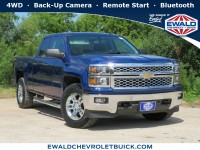 Used, 2014 Chevrolet Silverado 1500 LT, Blue, GP4492A-1