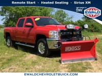 Certified, 2014 Chevrolet Silverado 2500HD LTZ, Red, GP4270A-1