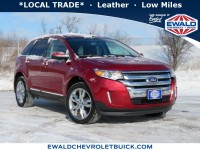 Used, 2014 Ford Edge SEL, Red, GP4876A-1