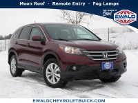 Used, 2014 Honda CR-V EX, Red, 20B18A-1