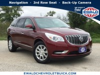 Used, 2015 Buick Enclave Leather, Red, 19B95A-1