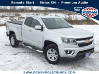 Used, 2015 Chevrolet Colorado 2WD LT, Silver, 19C499A-1