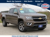 Certified, 2015 Chevrolet Colorado 4WD Z71, Brown, 19C835A-1