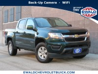 Used, 2015 Chevrolet Colorado 4WD WT, Green, 20CF218A-1