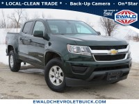 Used, 2015 Chevrolet Colorado 4WD WT, Green, 20CF324A-1