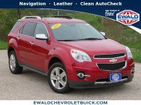 Used, 2015 Chevrolet Equinox LTZ, Red, 19C285A-1