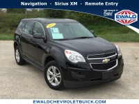 Used, 2015 Chevrolet Equinox LS, Black, GN4340A-1