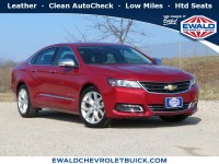 Used, 2015 Chevrolet Impala LTZ, Red, 19C997A-1