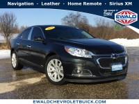 Used, 2015 Chevrolet Malibu LT, Black, 18C1313B-1