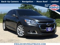 Used, 2015 Chevrolet Malibu LT, Gray, 19C559C-1