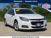 Used, 2015 Chevrolet Malibu LS, White, 19C827A-1