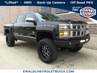 Used, 2015 Chevrolet Silverado 1500 LTZ, Black, 18C294A-1