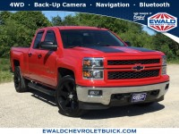 Used, 2015 Chevrolet Silverado 1500 LT, Red, 19C545A-1