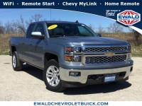 Used, 2015 Chevrolet Silverado 1500 LT, Gray, GN4340-1