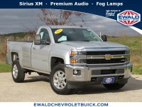 Used, 2015 Chevrolet Silverado 2500HD LT, Gray, 19C522A-1