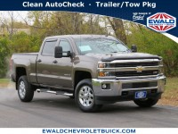 Used, 2015 Chevrolet Silverado 2500HD LT, Brown, 20C1202A-1