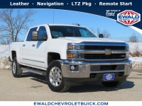 Used, 2015 Chevrolet Silverado 2500HD LTZ, White, 20C284A-1