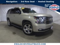 Used, 2015 Chevrolet Tahoe LTZ, Gold, 19C260A-1