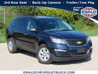 Used, 2015 Chevrolet Traverse LS, Blue, 19C724A-1