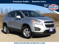 Used, 2015 Chevrolet Trax LS, Silver, GP4252-1