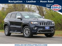 Used, 2015 Jeep Grand Cherokee Overland, Blue, 20C1205A-1