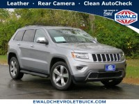 Used, 2015 Jeep Grand Cherokee Limited, Silver, 20C813B-1