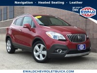 Used, 2016 Buick Encore Leather, Red, GP4373-1