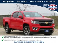 Certified, 2016 Chevrolet Colorado 4WD Z71, Red, 20C697A-1