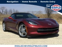 Used, 2016 Chevrolet Corvette 3LT, Red, CON4356-1