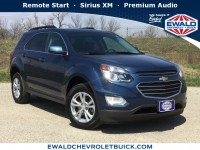 Used, 2016 Chevrolet Equinox LT, Blue, 19B56A-1