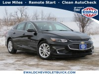 Used, 2016 Chevrolet Malibu LT, Black, 21C49A-1