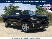 Used, 2016 Chevrolet Silverado 1500 LTZ, Black, 18C898C-1
