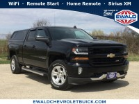Used, 2016 Chevrolet Silverado 1500 LT, Black, 19C199A-1