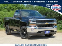 Used, 2016 Chevrolet Silverado 1500 LT, Black, 19C934A-1
