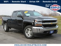 Used, 2016 Chevrolet Silverado 1500 LT, Black, 20C278A-1