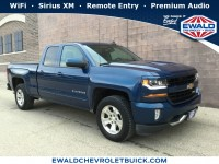 Used, 2016 Chevrolet Silverado 1500 LT, Blue, GP4192-1