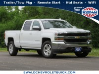 Used, 2016 Chevrolet Silverado 1500 LT, White, GP4722-1