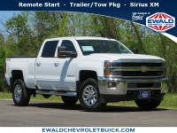 Used, 2016 Chevrolet Silverado 2500HD LT, White, 20C811A-1