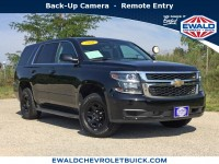 Used, 2016 Chevrolet Tahoe Commercial, Black, 19CF854A-1
