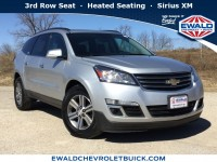 Used, 2016 Chevrolet Traverse LT, Silver, 19C240B-1