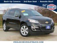 Used, 2016 Chevrolet Traverse LT, Black, 20C185A-1