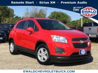 Certified, 2016 Chevrolet Trax LT, Red, GN4097-1
