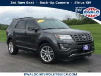 Used, 2016 Ford Explorer XLT, Gray, 19C313A-1